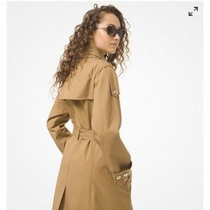 Michael Kors camel raincoat